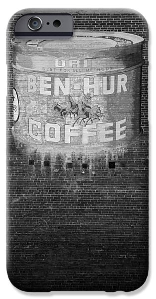 Ben iPhone Cases - Ben Hur Coffee iPhone Case by Peter Tellone