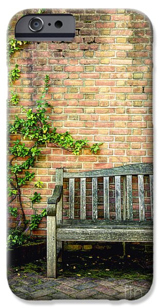 Escape iPhone Cases - Bench by Ivy iPhone Case by Margie Hurwich