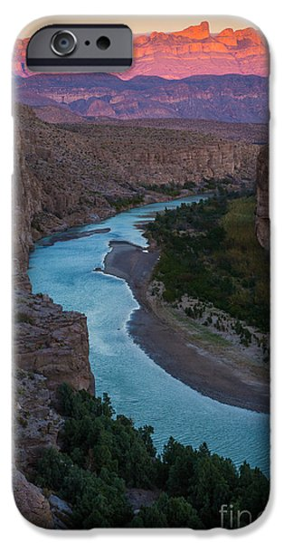 Epic iPhone Cases - Bend in the Rio Grande iPhone Case by Inge Johnsson