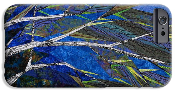Storm Tapestries - Textiles iPhone Cases - Bending Not Breaking iPhone Case by Linda Beach