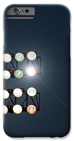 Beneath Friday Night Lights iPhone Case by Trish Mistric