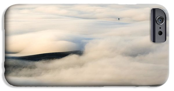 Fog Mist iPhone Cases - Beneath the Blanket iPhone Case by Mike  Dawson