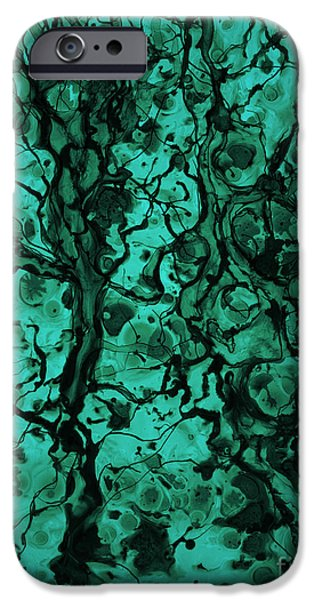 Dave Mixed Media iPhone Cases - Beneath The Surface iPhone Case by David Gordon