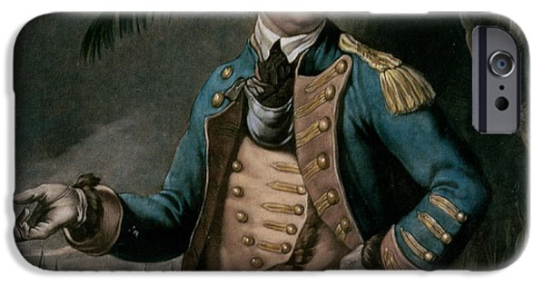 Benedict iPhone Cases - Benedict Arnold iPhone Case by English School