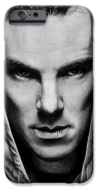 Benedict iPhone Cases - Benedict Cumberbatch iPhone Case by Kayleigh Semeniuk