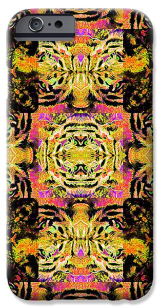 Bengal Tiger Abstract 20130205p80 iPhone Case by Wingsdomain Art and Photography