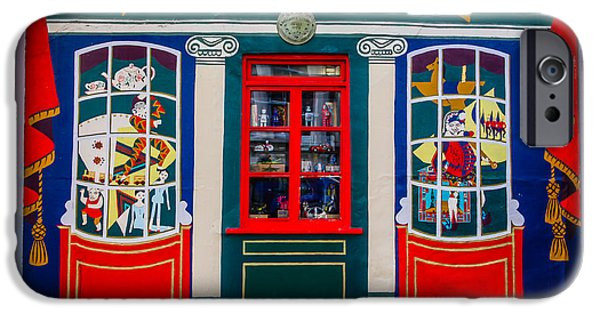 Toy Store iPhone Cases - Benjamin Pollocks Toy Museum iPhone Case by Ross Henton