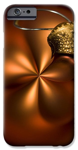 Bent Bauble iPhone Case by Anne Gilbert