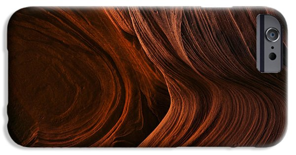 Red Rock iPhone Cases - Bent by the Elements iPhone Case by Mike  Dawson