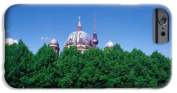 Berlin Germany iPhone Cases - Berlin Germany iPhone Case by Panoramic Images