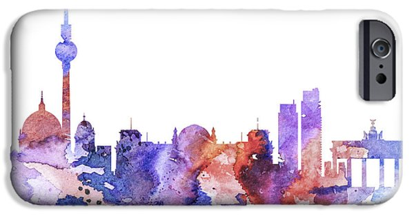 Berlin iPhone Cases - Berlin  iPhone Case by Luke and Slavi