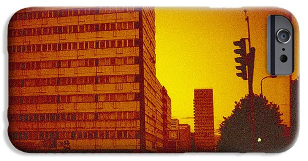 Berlin Germany iPhone Cases - Berlin street DDR iPhone Case by Juan  Bosco