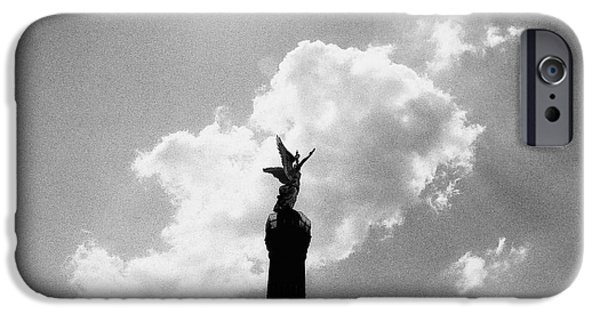 Nike iPhone Cases - Berlin Victory Column iPhone Case by Dean Harte