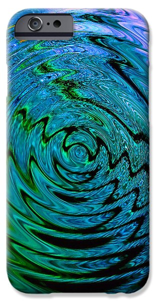 Bermuda Blue iPhone Case by Michael Durst