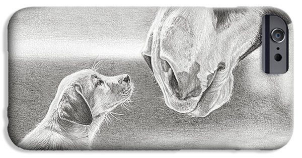 Puppies iPhone Cases - Best Buds iPhone Case by Frances Vincent