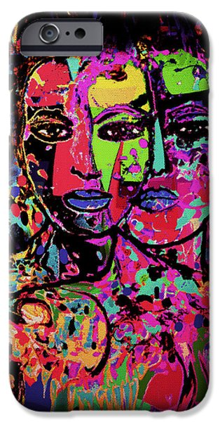 Best Friends Forever iPhone Case by Natalie Holland