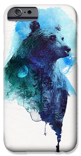 Forest Mixed Media iPhone Cases - Best friends forever iPhone Case by Robert Farkas