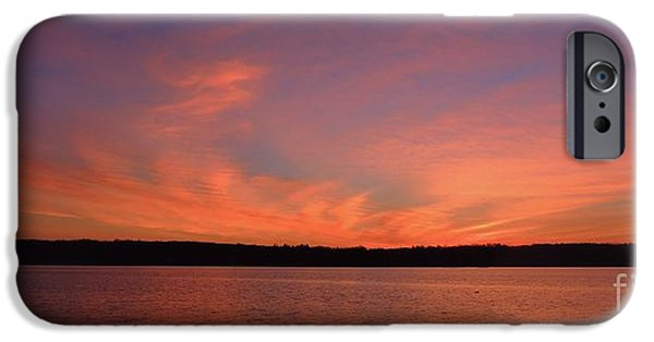 Sunsets iPhone Cases - Easter Dawn iPhone Case by Paul Smith