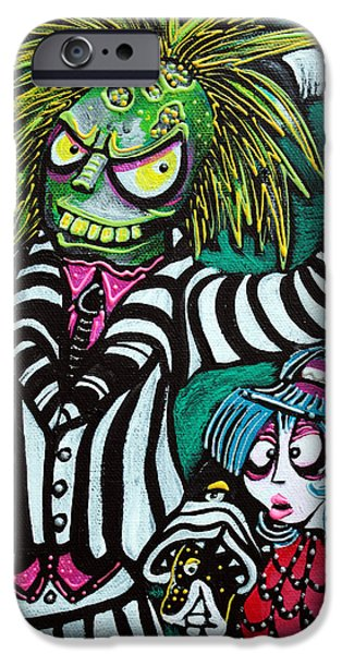 Tim Paintings iPhone Cases - Betelgeuse iPhone Case by Laura Barbosa