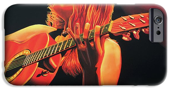 Gospel iPhone Cases - Beth Hart  iPhone Case by Paul  Meijering