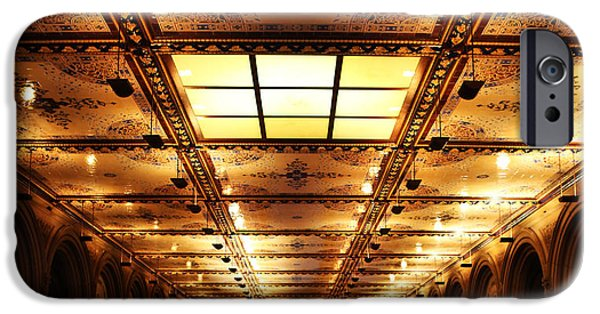 Interior Scene iPhone Cases - Bethesda Terrace Lower Passage iPhone Case by Lee Dos Santos
