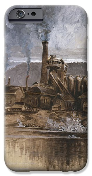 Bethlehem Steel Corporation Circa 1881 iPhone Case by Aged Pixel
