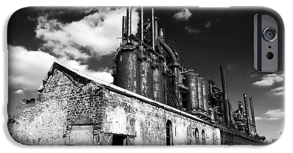 John Rizzuto iPhone Cases - Bethlehem Steel iPhone Case by John Rizzuto