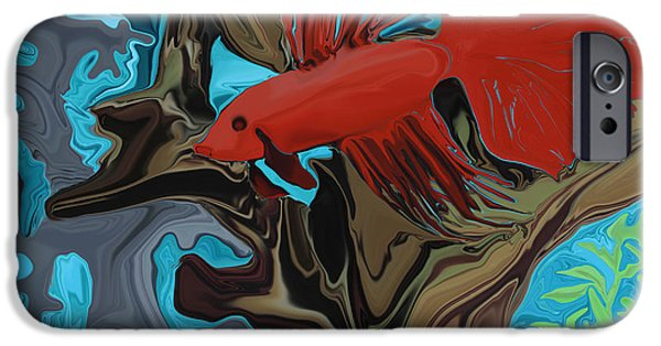 Betta iPhone Cases - Bettas Band iPhone Case by Sherin  Hylan