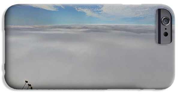 Big Sur Ca iPhone Cases - Between Heaven And Earth iPhone Case by Heidi Smith