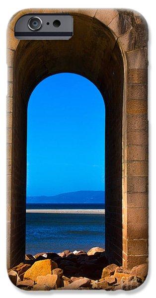 Edgar Laureano Photographs iPhone Cases - Between sea and sky iPhone Case by Edgar Laureano