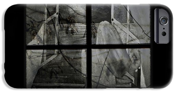 The View Mixed Media iPhone Cases - Between the Frames iPhone Case by Barbara St Jean