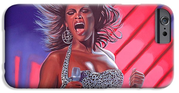 Destiny iPhone Cases - Beyonce iPhone Case by Paul  Meijering