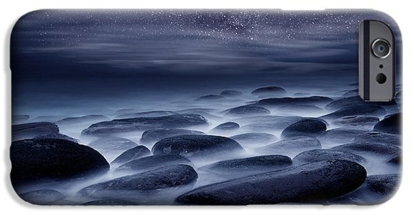 Seascape iPhone Cases - Beyond our Imagination iPhone Case by Jorge Maia