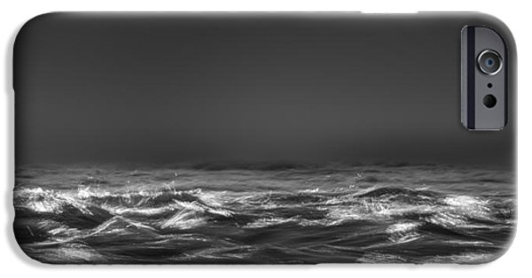 Turbulent Skies iPhone Cases - Beyond The Sea iPhone Case by Bob Orsillo