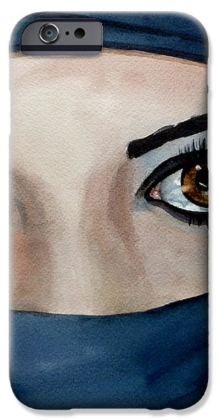 Beyond the Veil iPhone Case by Michal Madison