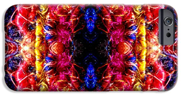 Abstract Design Tapestries - Textiles iPhone Cases - Bezeled iPhone Case by ArtCraftE Shop