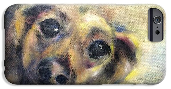 Puppies iPhone Cases - Bff iPhone Case by Kathy Stiber