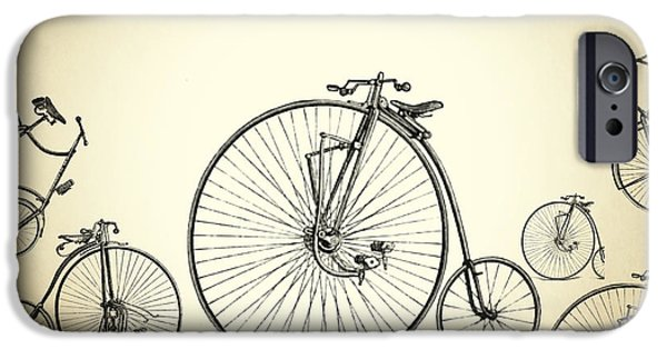 Animation iPhone Cases - Bicycle iPhone Case by Mark Ashkenazi