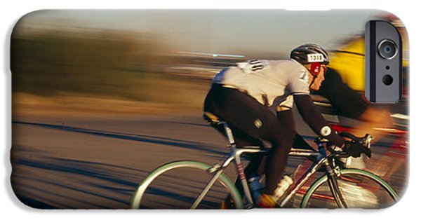Adults Only iPhone Cases - Bicycle Race, Tucson, Pima County iPhone Case by Panoramic Images