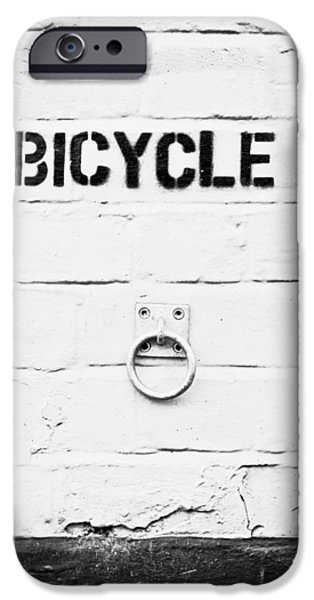 Chain-ring iPhone Cases - Bicycle iPhone Case by Tom Gowanlock