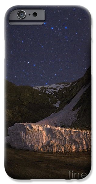 Ursa Minor iPhone Cases - Big And Little Dippers iPhone Case by Babak Tafreshi