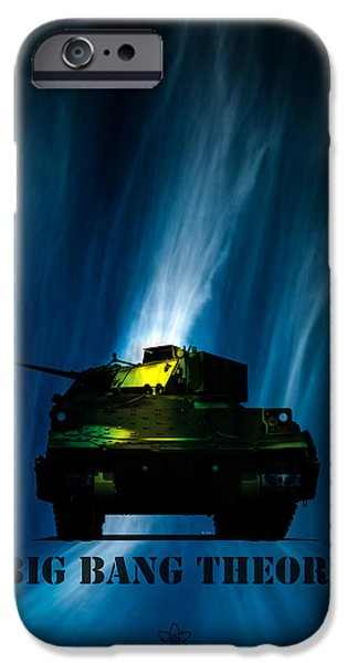 Atom iPhone Cases - Big Bang Theory iPhone Case by Bob Orsillo