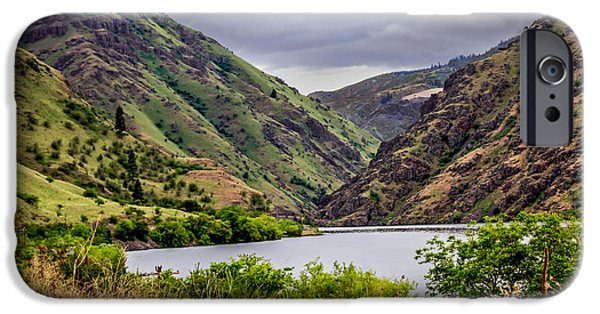 Deep River iPhone Cases - Big Bar View iPhone Case by Robert Bales