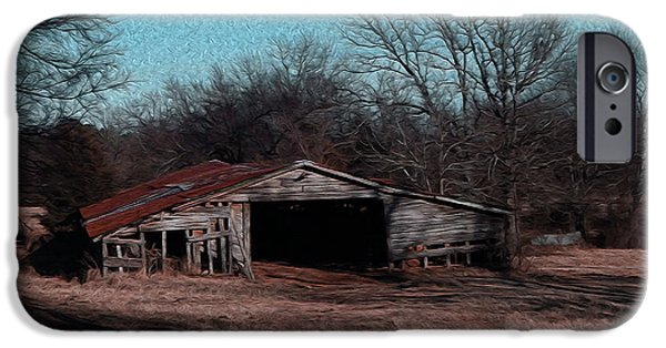 R. Mclellan Photography iPhone Cases - Big Barn Theory iPhone Case by R McLellan