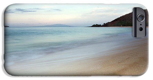 Hawaii Islands iPhone Cases - Big Beach Makena Maui Hawaii iPhone Case by Dustin K Ryan