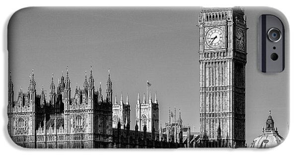 Houses Of Parliament iPhone Cases - Big Ben iPhone Case by John Farnan