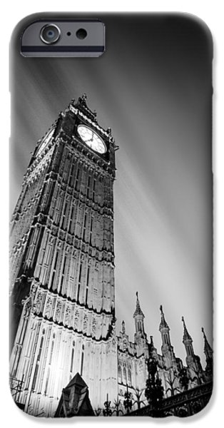 Houses Of Parliament iPhone Cases - Big Ben London iPhone Case by Ian Hufton