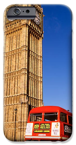 19th Century iPhone Cases - Big Ben, London, United Kingdom iPhone Case by Panoramic Images