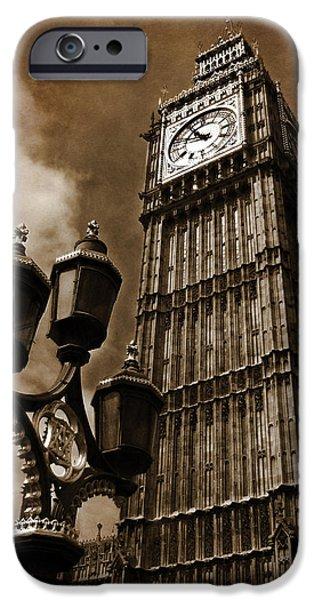 Houses Of Parliament iPhone Cases - Big Ben iPhone Case by Mark Rogan