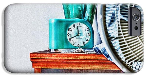 Clock Shop iPhone Cases - Big Ben Moon Beam iPhone Case by Bob Orsillo